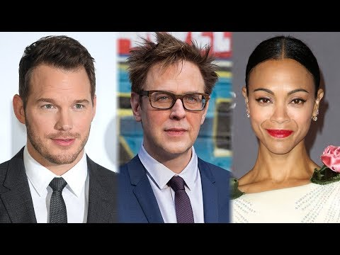 Chris Pratt & Zoe Saldana REACT To Guardians of the Galaxy Director FIRING Mp3