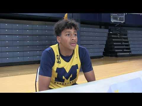 Michigan Basketball: Eli Brooks talks PG competition
