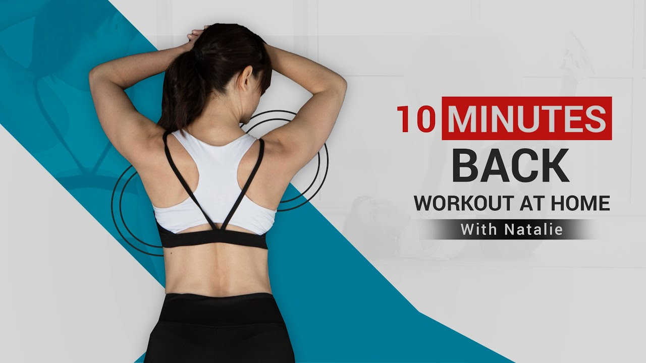Download Back Workouts | Complete Back Exercise | Back Exercise At Home For Beginners | With Natalie