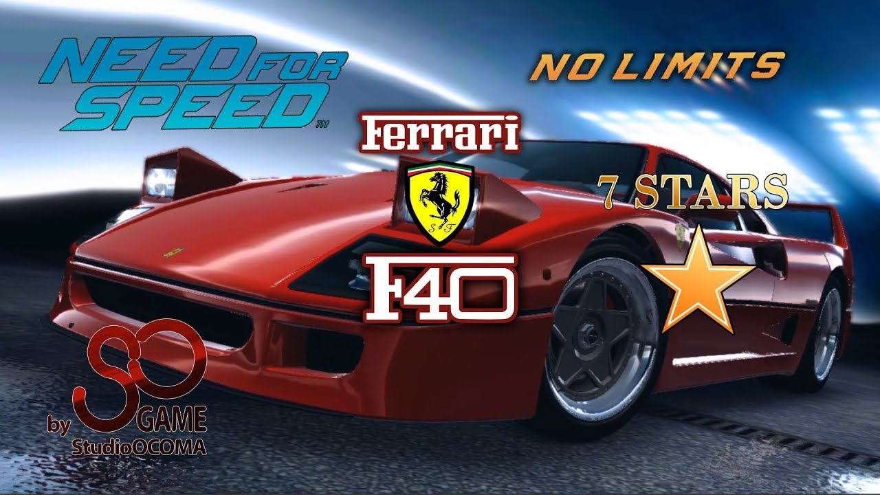 how to mount a ferrari f40 7 stars and how much does it cost youtube. Black Bedroom Furniture Sets. Home Design Ideas