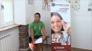 Papimi per terapia Enerpulse, tendinite al polso