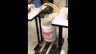 Arch toothpick bridge (bucket max out)