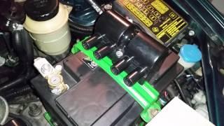 видео После мойки двигателя машина троит
