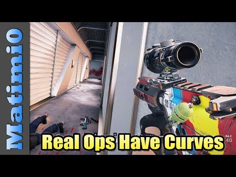 Real Ops Have Curves - Rainbow Six Siege