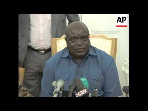 SOUTH AFRICA: ZAIRE'S REBEL LEADER KABILA MEETS NELSON MANDELA
