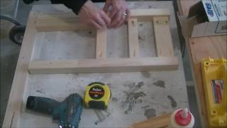 Building Child Size Chairs
