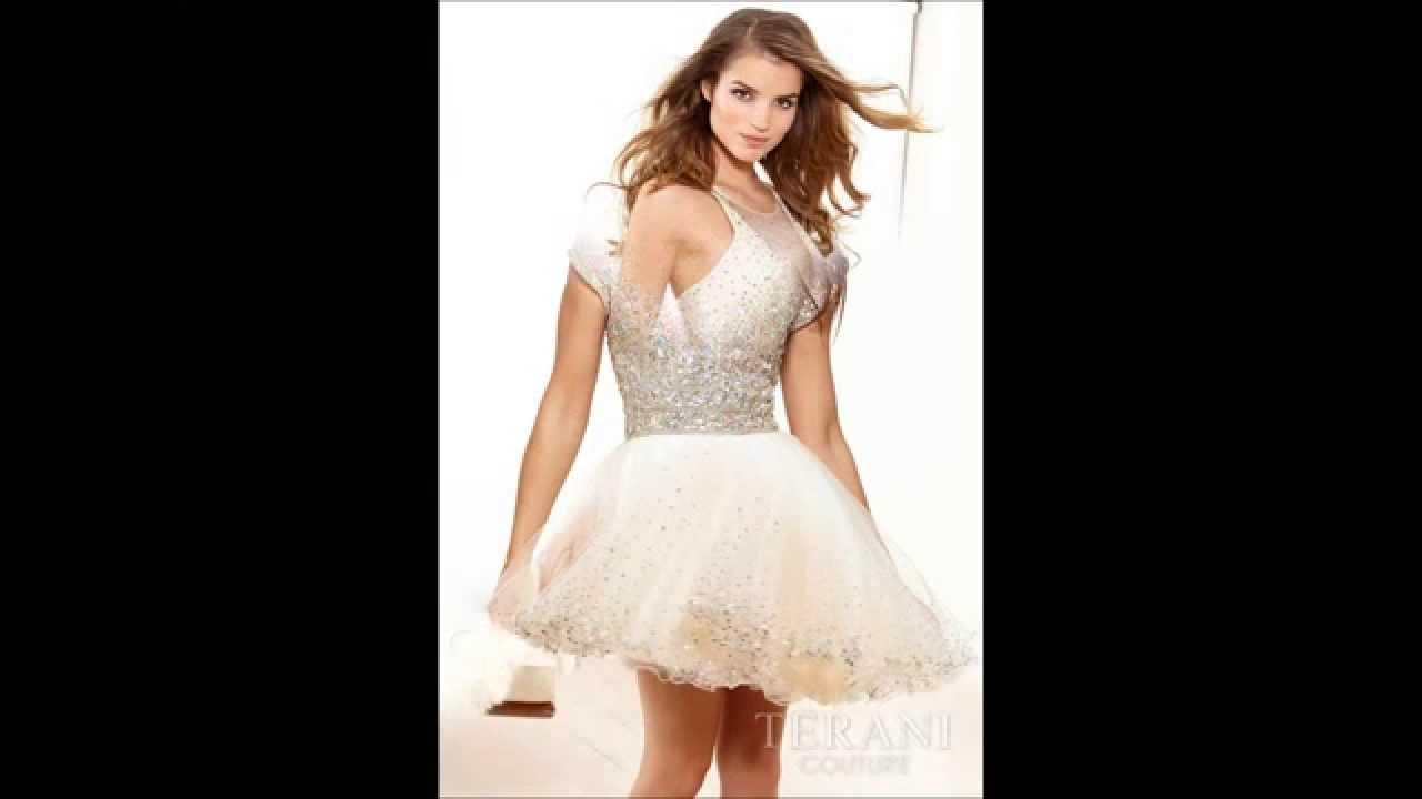 9400478dc Vestidos Cortos Para XV Años - Modelos 2014 - YouTube