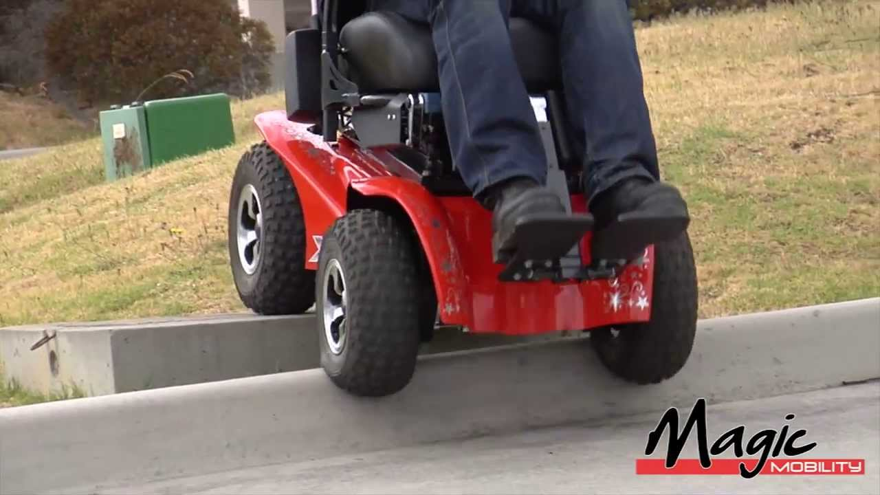 Magic Mobility WheelchairsExtreme X8 OffRoad Power ChairYouTube