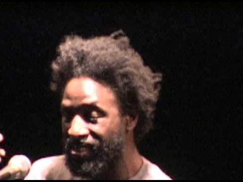 Saul Williams Live Spoken word 2005 NYC