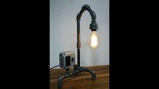 Best socket for building a black pipe lamp