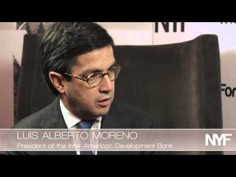 Luis Alberto Moreno NY Forum 2011 Interview