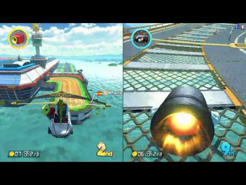 Mario Kart 8 with Gabe