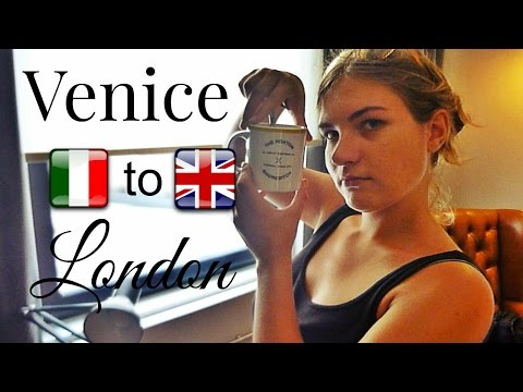 Venice to London + staying at the Hoxton in Shoreditch! | Daily Travel Vlog 165