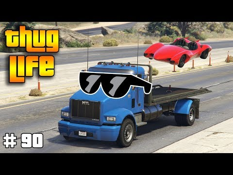 GTA 5 ONLINE : THUG LIFE AND FUNNY MOMENTS (WINS, STUNTS AND FAILS #90) thumbnail