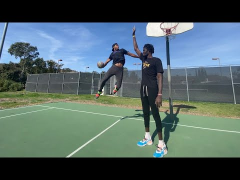 King of the Court vs 7'5 Giant  (Dunks ONLY)