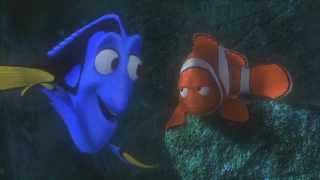 """Finding Nemo """"Just Keep Swimming"""" Clip"""