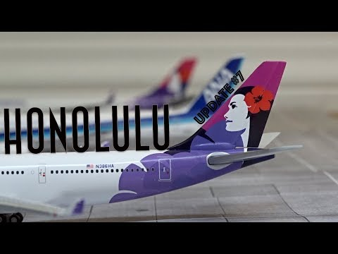 [Homemade] 1/400 Daniel K. Inouye Honolulu International Airport | Update #7