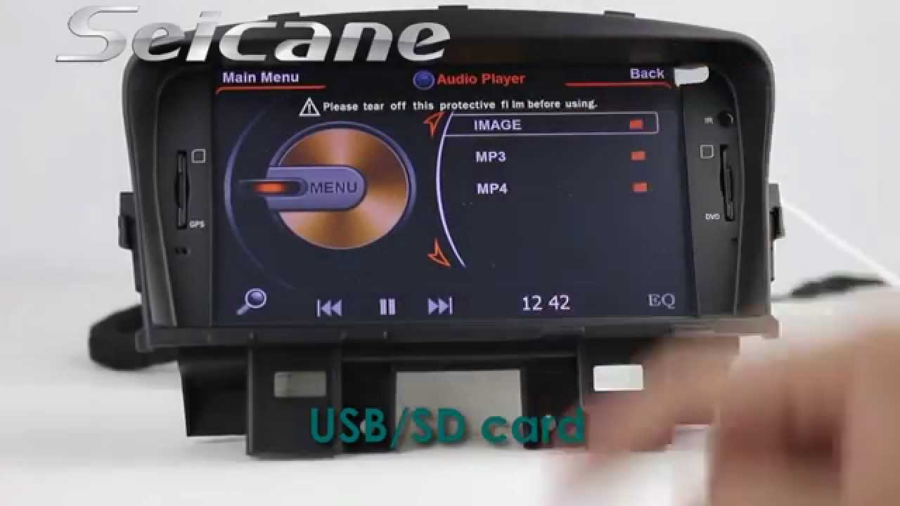 2009 2010 2011 2012 Chevrolet Cruze CD Radio Upgrade to ...