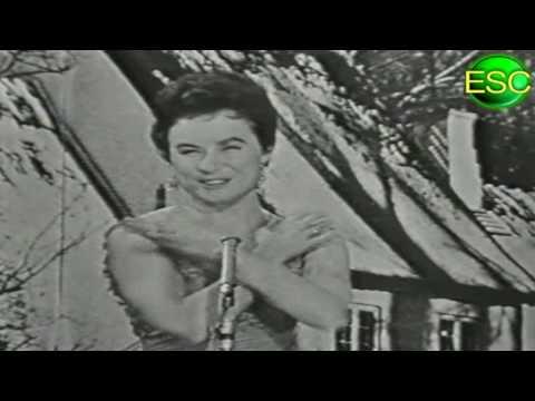 ESC 1959 02 - Denmark - Birthe Wilke - Uh, Jeg Ville Ønske Jeg Var Dig