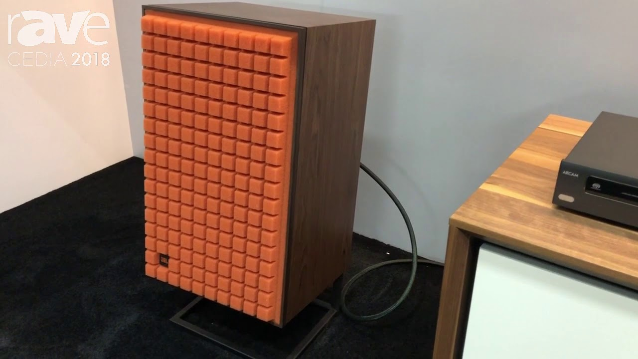 CEDIA 2018: JBL Reintroduces Its L100 Classic Loudspeaker