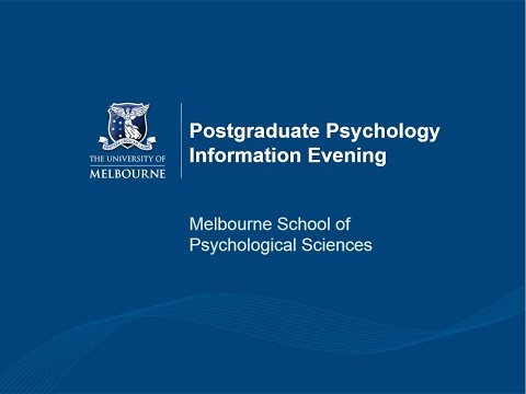 Postgraduate Psychology Information Evening
