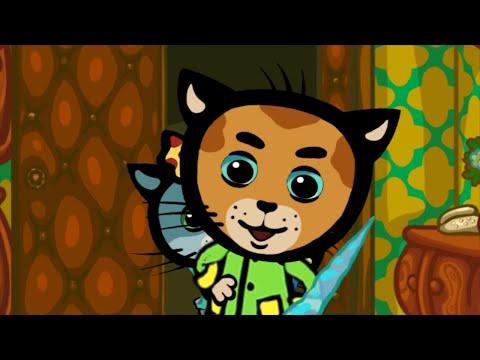 Песни для детей - КОТЯТКИНЫ ИСТОРИИ - Горячо - Обучающие мультфильмы