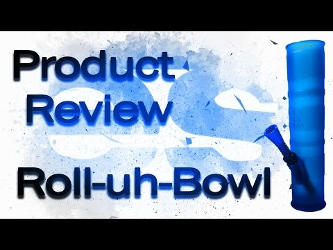 Roll-Uh-Bowl - The Medical Grade Silicone Portable Waterpipe Review