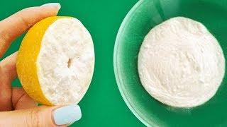 Trempe la Moitié D'un Citron Dans du Bicarbonate de Soude, et le Résultat te Laissera Bouche-bée