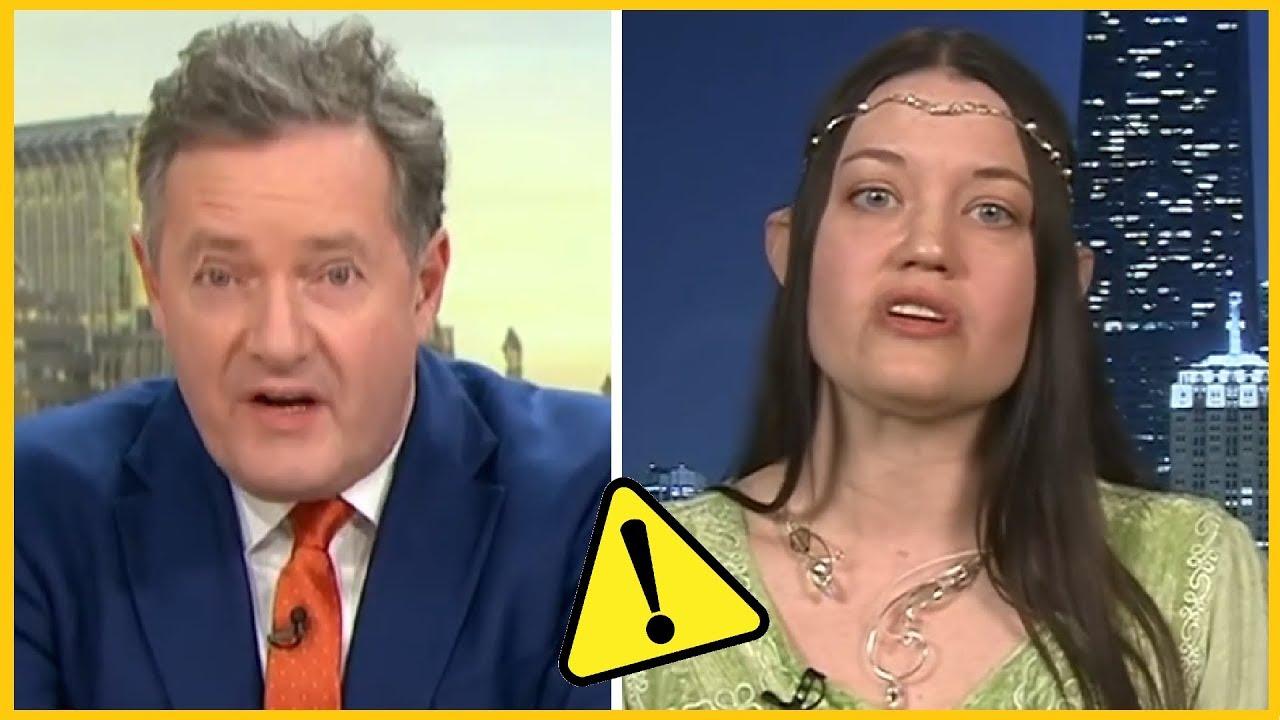 """Piers Morgan BAFFLED by """"Trans-species"""" ELF"""