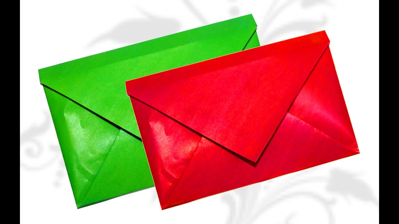 super easy origami envelope tutorial diy beauty and