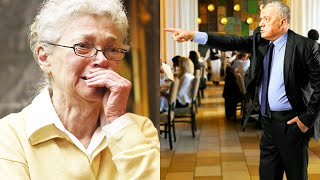 Restaurant Manager Kicked Out this Old Woman not Knowing Who She Really Was (HEART WARMING)