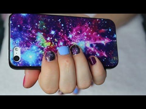 Galaxy Nails | Easy Nail Art Tutorial