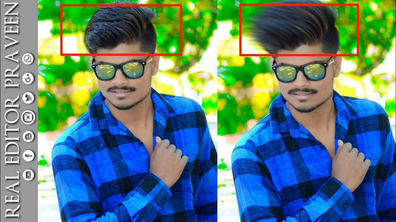 How To Change Hair Style Pappya Gaikwad Cb Editing Tutorial In