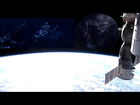 Cloaked Ufo video NASA Sighting live space Feed is Cut