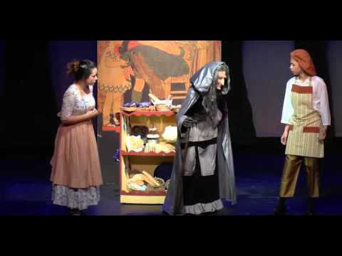 Into The Woods JR - SHAPE Players, Belgium