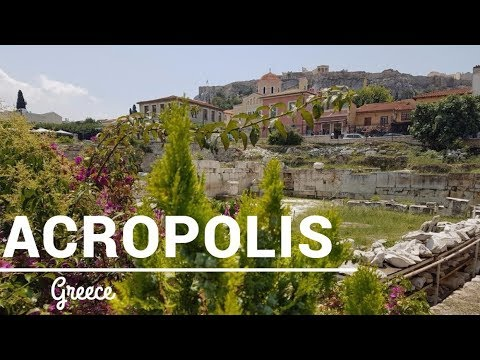 Greece: The Acropolis of Athens and Plaka