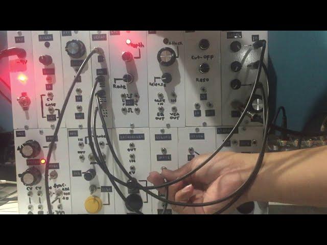 Harsh Noise System [modular synthesizer  noise wall generator]