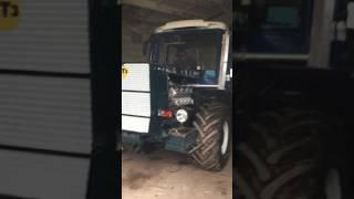 работа ЯМЗ 238 на тракторе т150