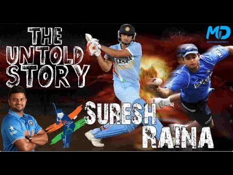 Raina:- The Untold Story! Suresh Raina Biography in hindi!(Animated)