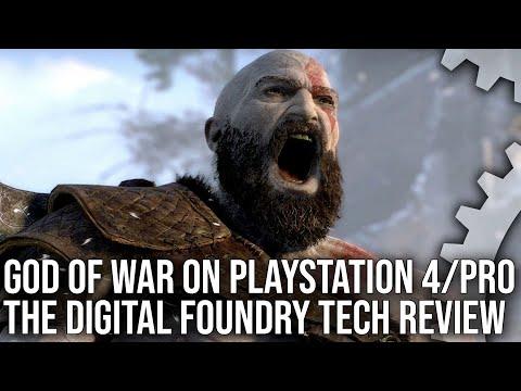 [4K] God of War on PS4/ PS4 Pro: A Stunning Tech Showcase!