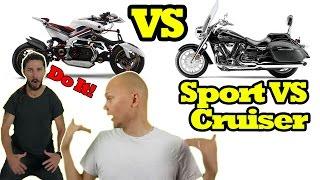 Sportbike VS Cruiser Motorcycle