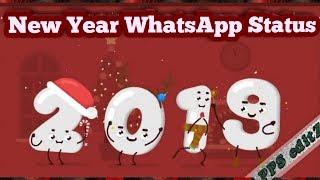 Happy New Year 2019 New Year WhatsApp Status Animation Status