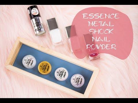 Пигменти за нокти Essence Metal Shock | Eat Love Makeup