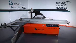 Griggio Unica Safe - A Panel Saw With An Innovative Safety Device