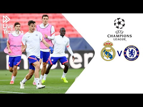 Chelsea Live Training | Real Madrid v Chelsea | UEFA Champions League