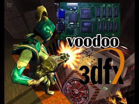 3dfx Voodoo 4mb Gaming Игры на первой Voodoo