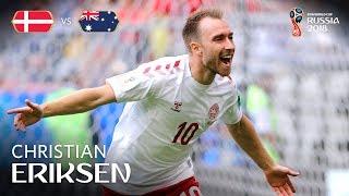 Christian ERIKSEN Goal - Denmark v Australia - MATCH 22