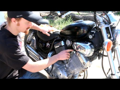 How to Adjust Pilot/Fuel Screw on Motorcycle - Yamaha Virago 535
