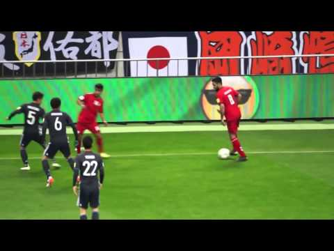 Modjieb Jamali- Japan vs. Afghanistan- Full match 24.03.16 at Saitama Stadium