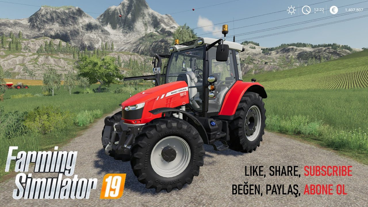 Farming Simulator 2019 top mods Massey Ferguson 5600 with SIC